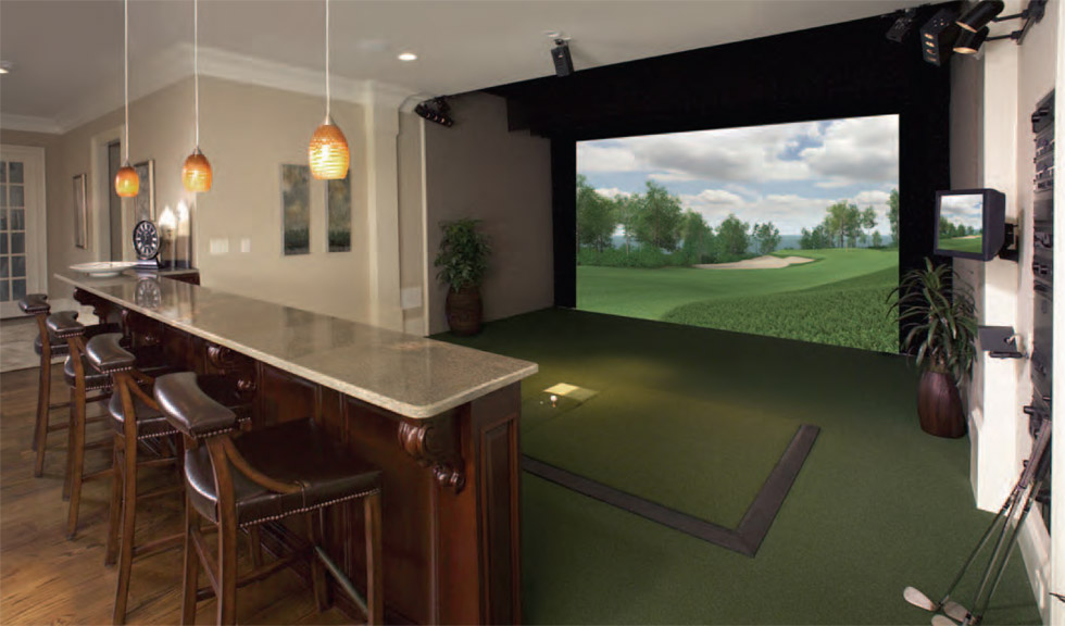Aboutgolf and the 3trak launch monitor hot topics for Interior design room simulator