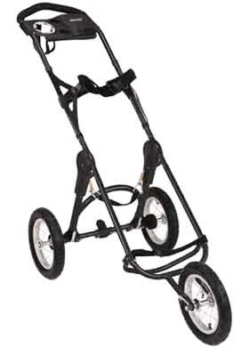 Bag Boy EZ Fold 12 Three Wheel Push Cart Review (Accessories