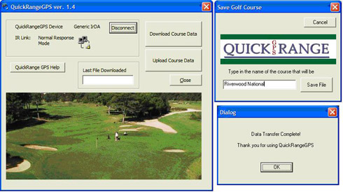 QuickRange GPS Software