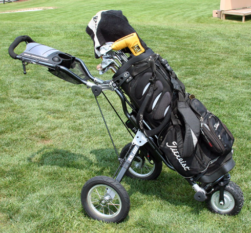 Sun Mountain Speed E Cart With Bag