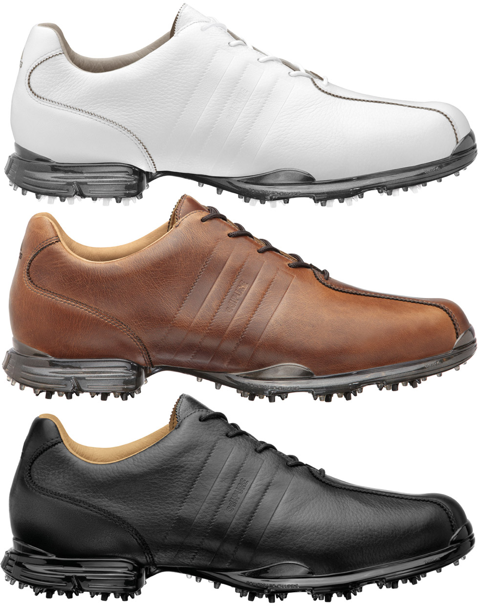 adidas adipure golf shoes brown