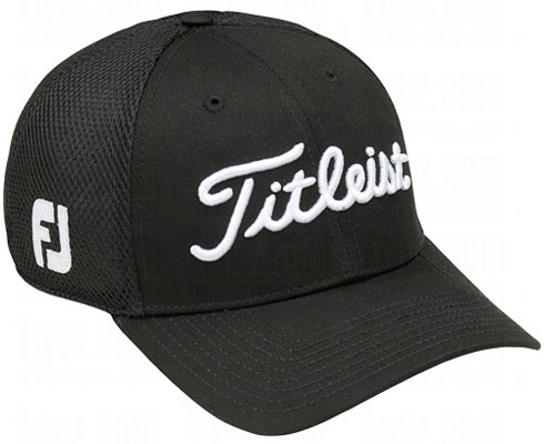 Titleist Structured Sports Mesh Cap - Black
