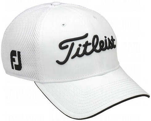 Titleist Structured Sports Mesh Cap - White