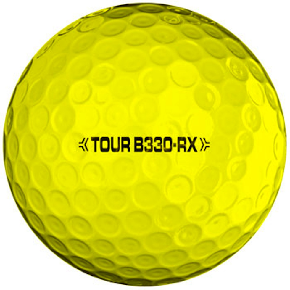 Bridgestone 2012 B330-RX Ball Yellow
