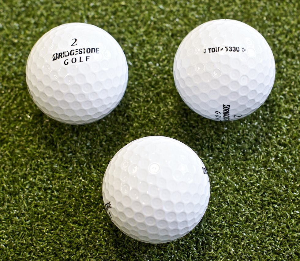 Bridgestone 2012 B330 Ball Dimples