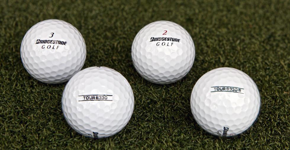 Bridgestone tour b series ball review balls hot
