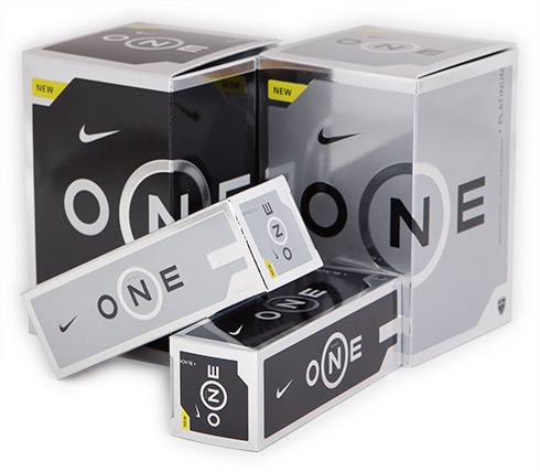 Nike One Black/Platinum boxes