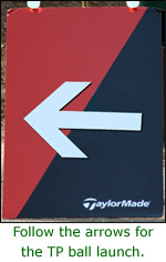 Taylormade Ball Launch Follow Arrows