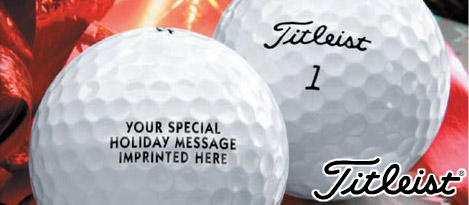 Titleist Holiday Imprinting