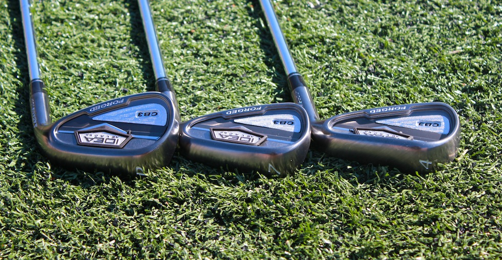Adams CB3 Irons Back