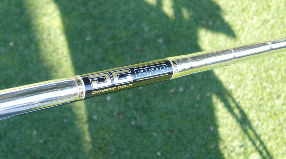 TT DG Pro shafts launch higher in the long irons.