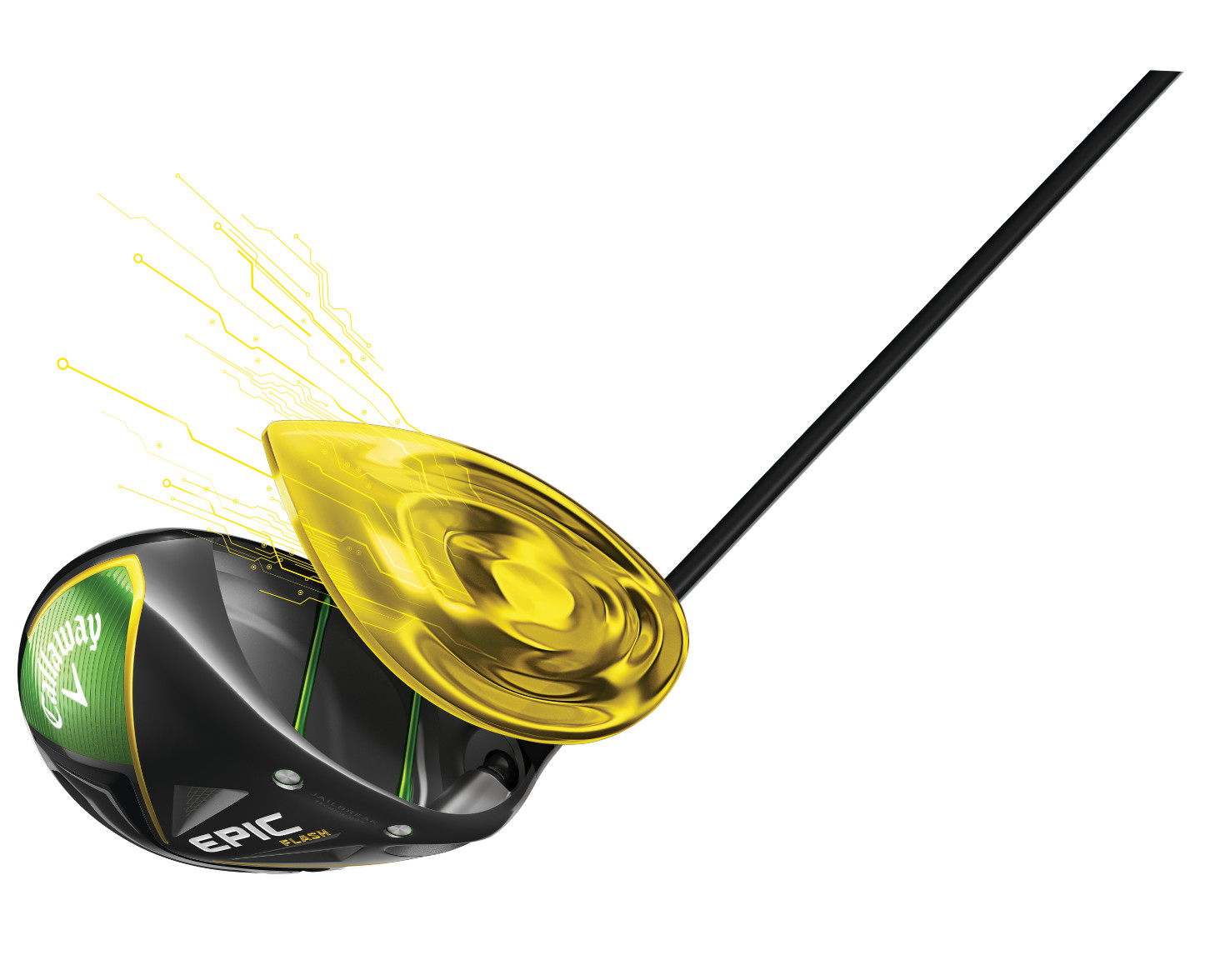 Callaway used AI technology in developing the Flash face