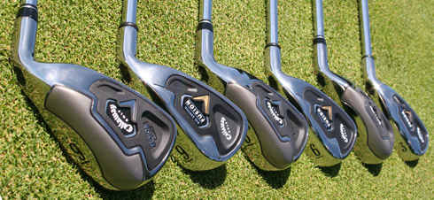 Fusion Wide sole and Fusion irons