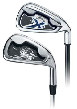 Callaway X-20 Back Comparison