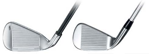 Callaway X-20 Face Comparison