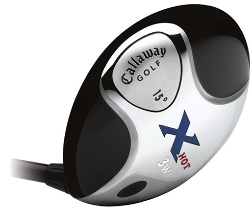 Callaway X Hot Fairway Wood Sole