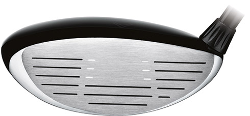 Callaway X Hot Fairway Wood Face