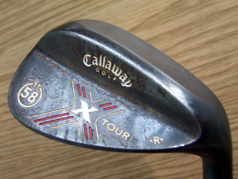 Callaway X-Tour Wedge Rusted Back