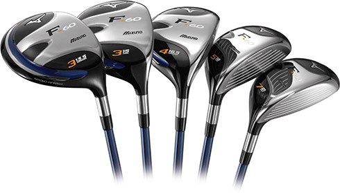 Mizuno F-60 Fairway Woods
