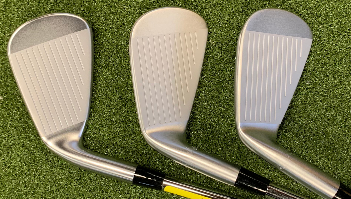 The Tour (right) is notably more compact than the Hot Metal (left) or the Forged.