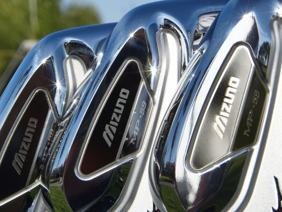 Mizuno MP-59 Irons Close Up