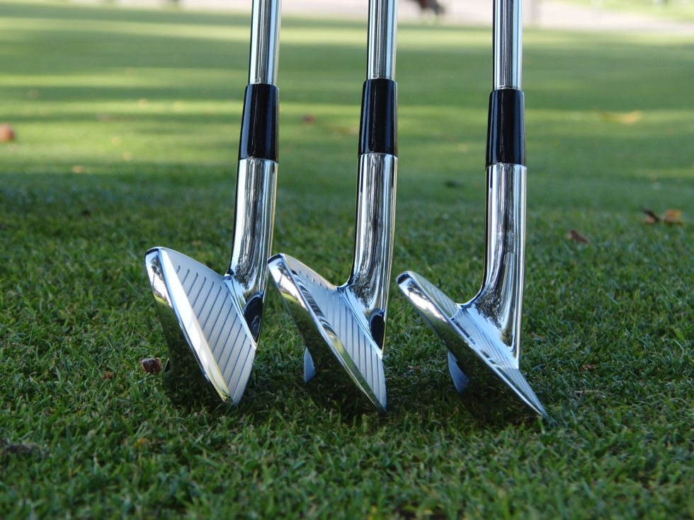 Mizuno MP-59 Irons Toe