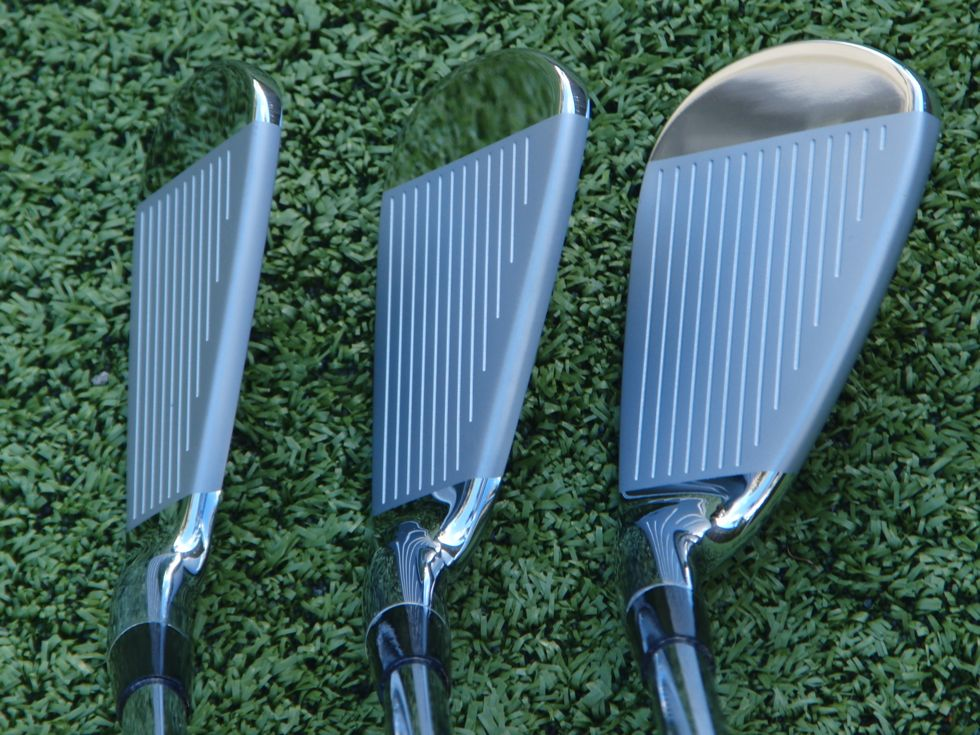 ab59d5220509 For those players seeking a club with a compact head, thin top line, and  nearly non-existant offset, these are the clubs. Even though these clubs  have a ...