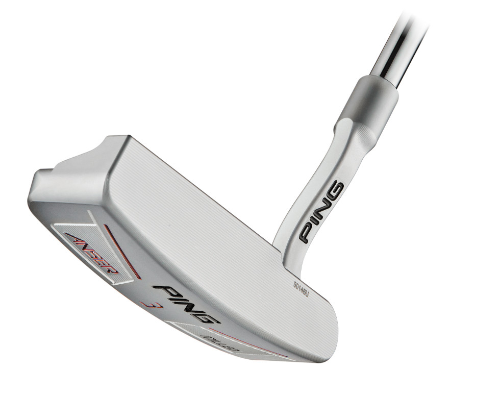 PING Anser Milled 3 - Face View