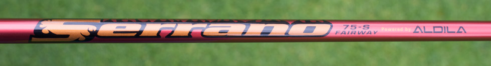 Aldila Serrano Fairway Shaft