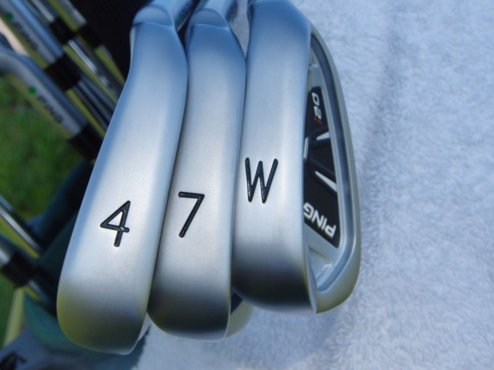 PING i20 Irons Sole