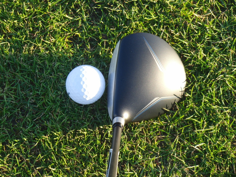 TaylorMade JetSpeed Fairway Address With Ball