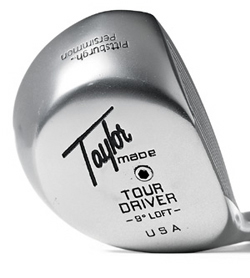 DRIVER PITTSBURGH TAYLORMADE PERSIMMON