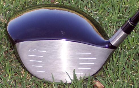 Taylormade R7 Draw Driver Face