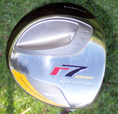 Taylormade R7 Draw Driver Sole
