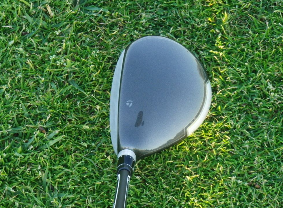 The SLDR Fairway is a great looking club at address.