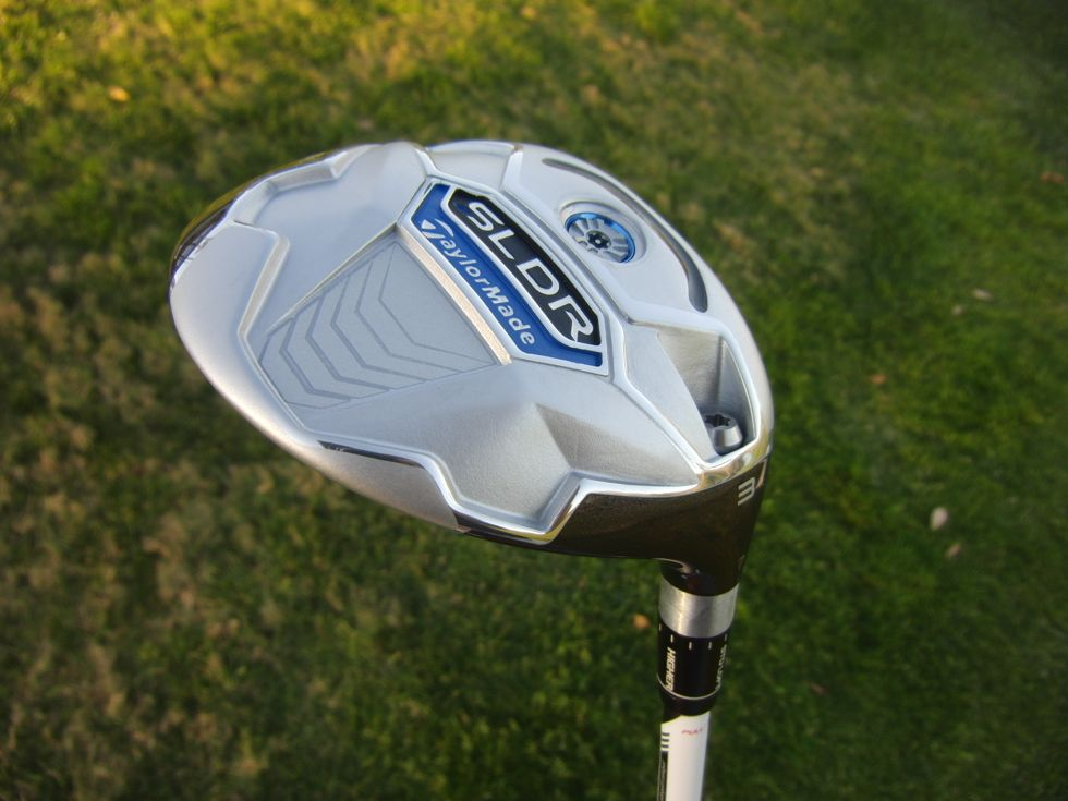 The TaylorMade SLDR Fairway