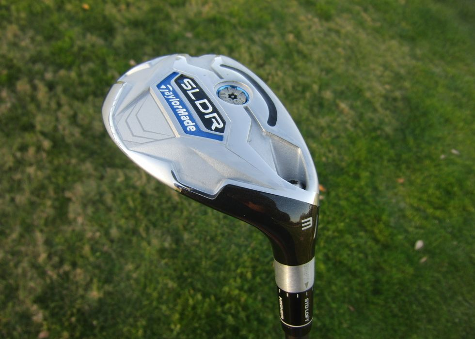 The TaylorMade SLDR Rescue