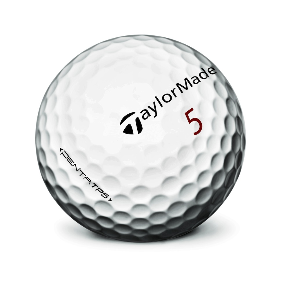 TaylorMade TP5 Balls One Ball