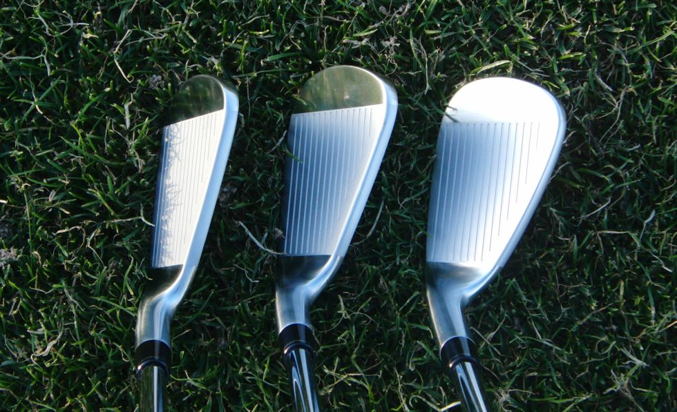 TaylorMade TP Irons 2014 CB Address