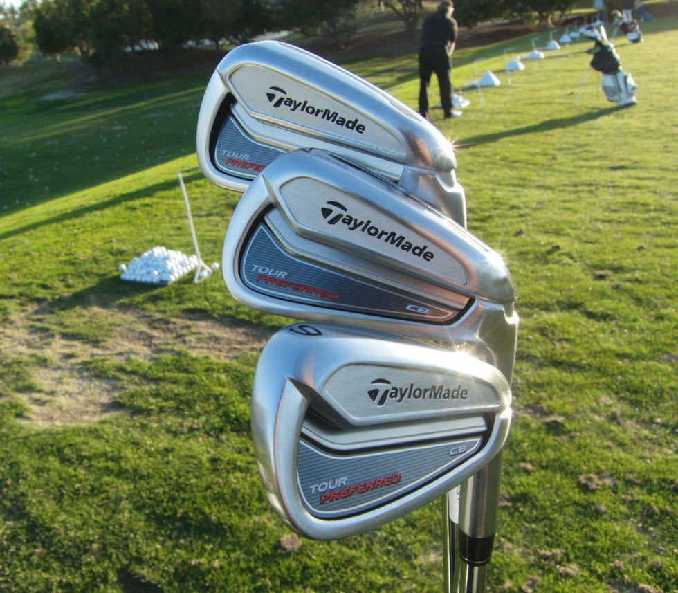 TaylorMade Tour Preferred Forged CB, MC and MB Irons