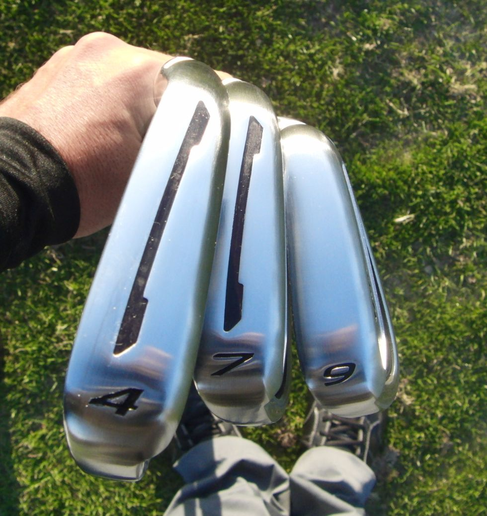 TaylorMade TP Irons 2014 CB Sole