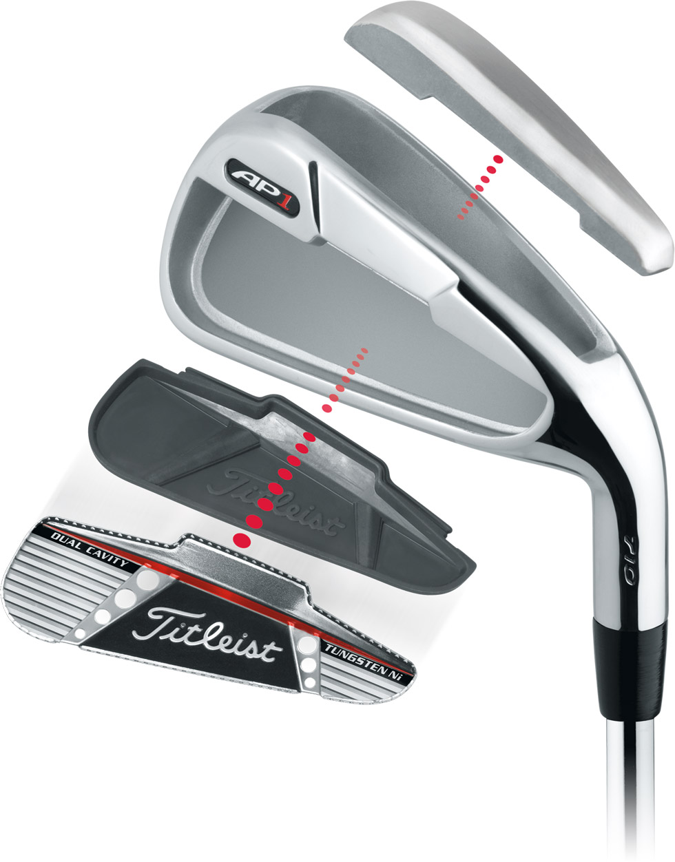 Titleist AP1 Components