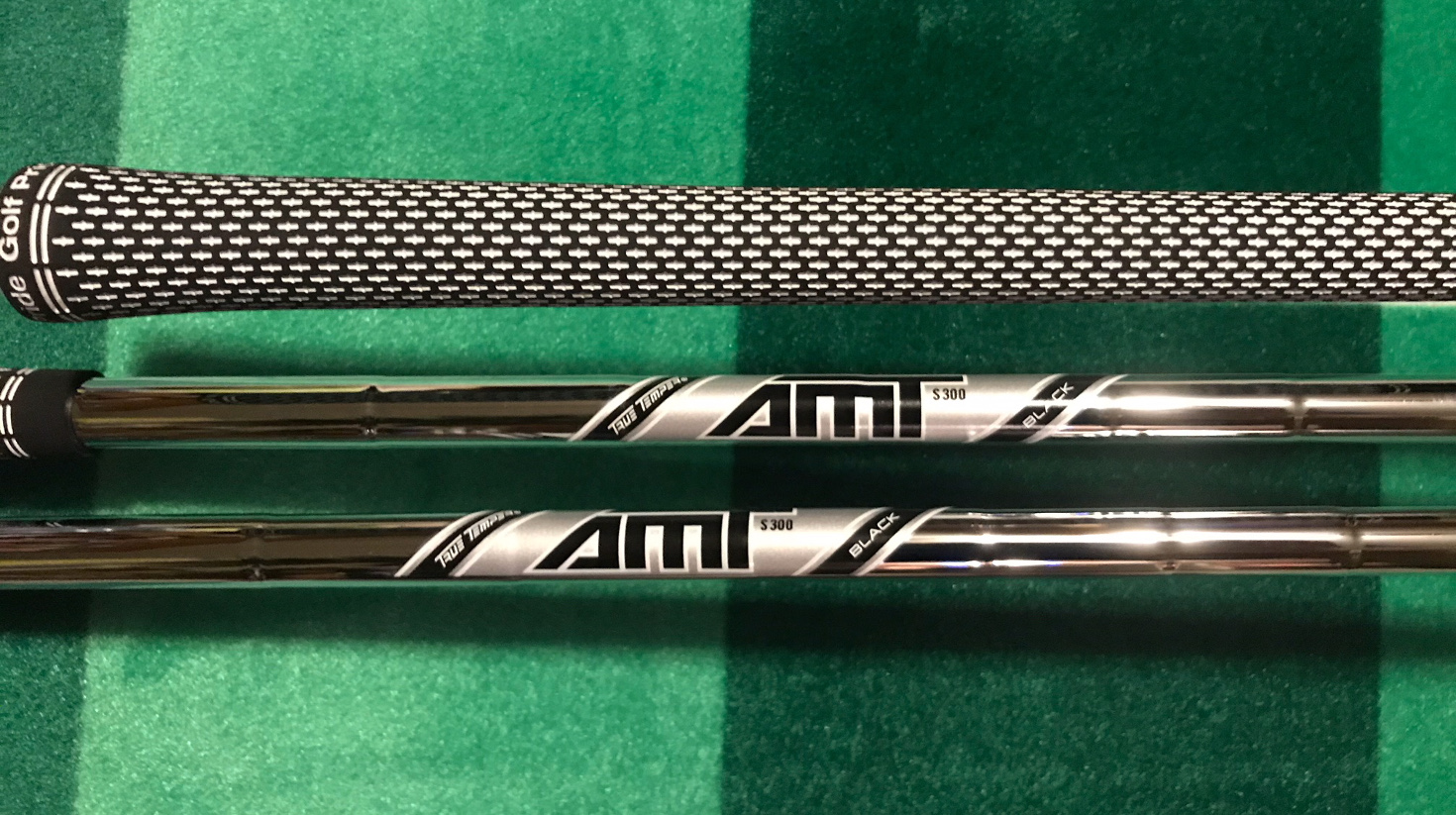 After trying several shafts, we settled on the AMT Black as the best fit for distance and accuracy.