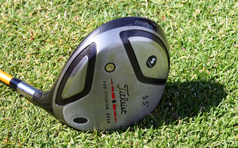Titleist 905R Sole