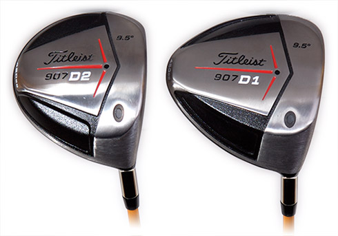 Titleist 907D1 and 907D2 Driver Soles