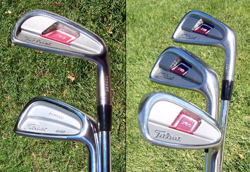 Titleist Forged 755 Backs