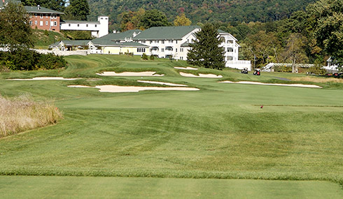 Bedford Springs 18th Tee