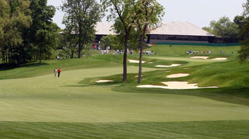 Muirfield Village Eighteenth Hole