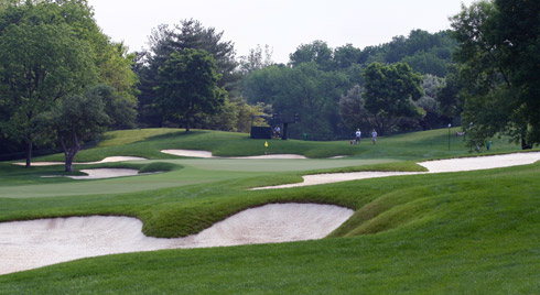Muirfield Village First Green