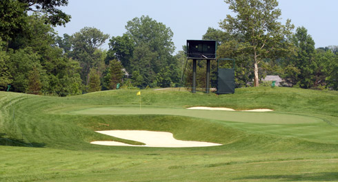 Muirfield Village Sixteenth Green